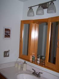 Recessed Bathroom Mirror Cabinets Bathroom Medicine Cabinet With Lights Modern Bathroom Recessed