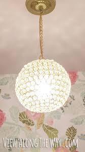 unbelievable crystal ball chandelier diy crystal chandelier kit