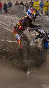Yamaha Motocross Mud James Stewart Ama Supercross Js7