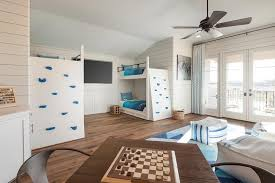kids bedroom with tv. Kids Bedroom With Tv Contemporary On Regarding Bunk Bed Climbing Wall Transitional Boy S Room 15 D