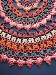 Free Crochet Mandala Pattern Simple Crochet Mandala Rug Pattern Artistic DIY Ideas Video Tutorial