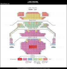 Lyric Theatre London Seat Map And Prices For Thriller Live
