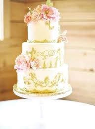 Pink And Gold Wedding Ideas Pink And Gold Wedding Cake Gold Pink
