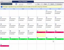Group Scheduler Onpages Web Based On Call Scheduler