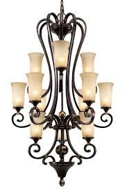 portland 3 tier chandelier