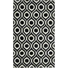 5x8 area rugs black and white rug geometric cowhide pattern 5x8 area rugs wayfair
