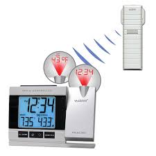 sharp 915mhz thermo sensor. amazon.com: la crosse technology wt-5220u-it projection alarm clock with indoor/outdoor temperature: home \u0026 kitchen sharp 915mhz thermo sensor