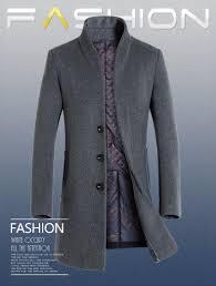 winter wool coat men long sections thick woolen coats mens casual fashion jacket casaco masculino palto peacoat overcoat