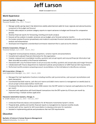 8 9 Sample Resume For Financial Analyst Wear2014 Com