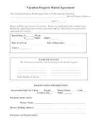 Residential Lease Contract Simple Lease Agreement Word Doc Free Rental Template One
