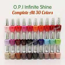 Opi Gel Nail Polish Colors Chart Details About Opi Infinite Shine Set Of 30 All Colors Complete Collection Full Kit Whole Lot