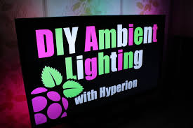 diy ambient lighting. Contemporary Lighting Picture Of DIY Ambient Lighting With Hyperion Works HDMIAV Sources  On Diy N