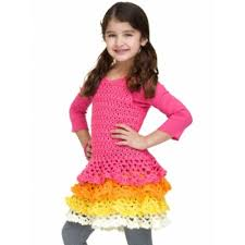 Free Crochet Dress Patterns Extraordinary 48 Patterns For Cute Crochet Girls Dresses