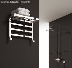 Elvina Designer Bathroom Heated Towel Rails from  DesignerBathroomConcepts.com