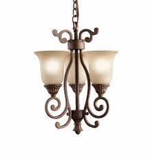 kichler chandelier 100 3 light linear pendant et2 e22779