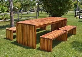 unusual wooden outdoor furniture