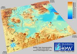 Topography Of The Baltic Sea Iow