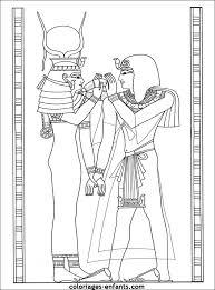 Kleurplaten Egypte Goden Egypte Dagelijks Leven Kleurplaat
