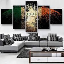 wall art 5 panels canvas prints ireland eagle canvas painting home decor custom canvas poster on 5 canvas wall art custom with wall art 5 panels canvas prints ireland eagle canvas painting home