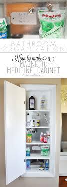 Medicine Cabinet Magnet Bathroom Organization Magnetic Medicine Cabinet Cherished Bliss