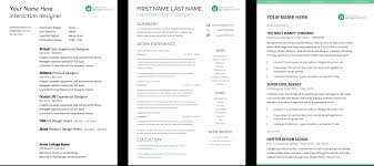 Ux Resume Template Simple Resume Template
