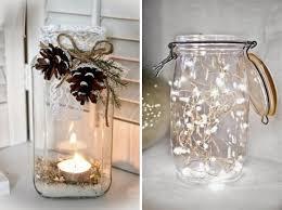 Trasformare i barattoli in decorazioni natalizie natale e fai da te