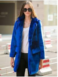 blue coat royal blue coat blue faux fur faux fur coat long line coat warm coat ustrendy com coat wheretoget