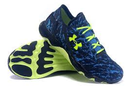under armour men s shoes. sapphire green blue men\u0027s running shoes fluorescent under armor printing armour men s m