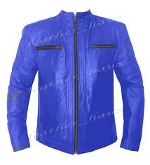 men 039 s stylish real leather rock star