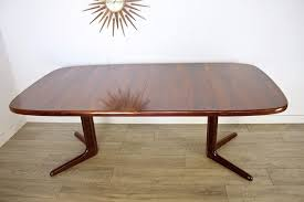 delivery 60 mid century retro danish rosewood skovby extending dining table photo 1