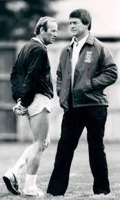 NOV 26 1984, 12-1984; Dan Reeves with Pat Bowlen, owner of the Denver  Broncos;
