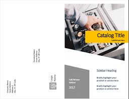 Product Catalog Templates Product Catalog Forms Design Half Fold 8 Pages