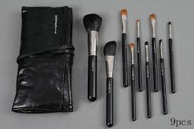 m a c 9pcs makeup brushes set mac makeup lessons mac makeup sets save