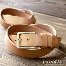 a belt cowhide a buckle alloy