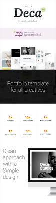 deca creative multi concept wp theme by uncommons themeforest deca is a portfolio template designed to work for all creatives agencies including graphic web designers architects illustrators digital agencies