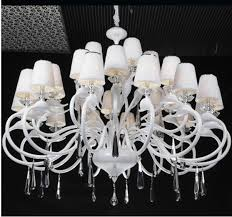 awesome large white chandelier large chandelier shades chandeliers design
