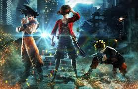 dragon ball one piece and naruto will be united in the uping jump force