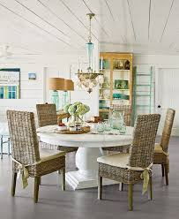 house of turquoise tiffany mcwhorter rattan chairs wicker dining room chairs white dining
