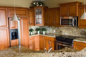 Small Picture Traditional Medium Wood Golden Kitchen Cabinets from Kitchen