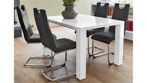 Esstisch Elke Weiß Hochglanz Ausziehbar 120 16090 Cm Luxus Von