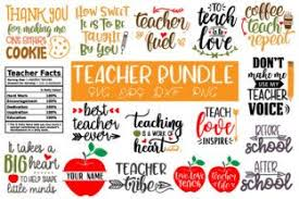 Is it secure to convert eps to svg on onlineconvertfree? Teacher Svg Bundle Graphic By Craft Pixel Perfect Creative Fabrica Svg Free Teacher Teacher Quotes