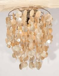 ceiling lights gold capiz chandelier chandelier parts shell hanging light capiz pendant light shade from