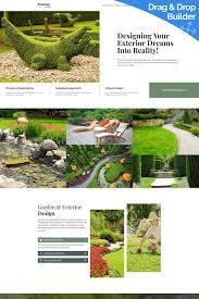 Landscape Website Designers Landscape Design Motocms 3 Landing Page Template 68226