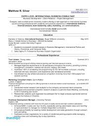 Student Resume For College Inspiration Current College Student Resume Examples 48 Elegant Resume Samples