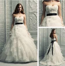 german wedding dresses. sash german lace organza ruffle tired fitted bridal wedding dresses