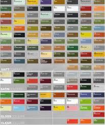 Humbrol Spray Paint Colour Chart Humbrol P1158 Enamel Paint Colour And Conversion Chart For