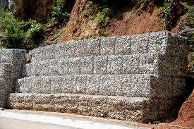 Small Picture Gabion Basket v Concrete Blocks Blockwalls Retaining Walls