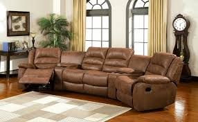 Sectional Sofas With Recliners And Cup Holders For Inspiration Caramel Faux  Leather Sofa Set Recliner With Cup Holder And Storage T31
