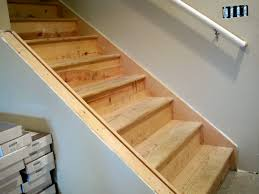 painted basement stairs. Wood Finishing Basement Stairs Painted Basement Stairs U