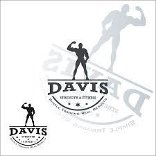 Results By Design Fitness Conservative Bold Fitness Logo Design For Davis Strength